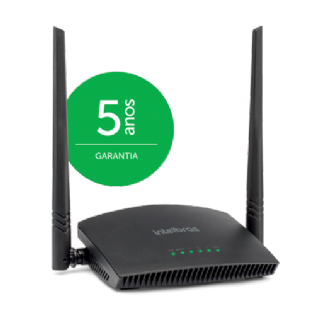 Roteador Wireless Intelbras RF 301K Preto